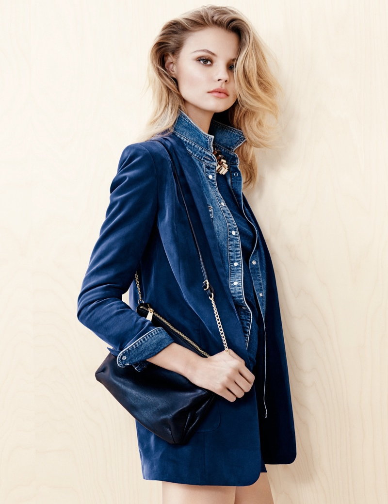 Magdalena Frackowiak for H&M Trend Update