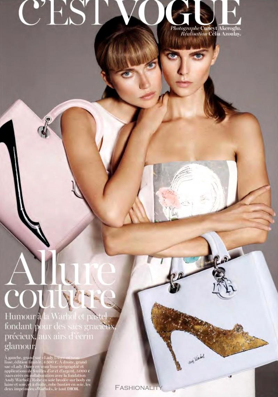 時尚生活 Maryna Linchuk & Cato van Ee 《Vogue》巴黎2013年11月刊时尚大片