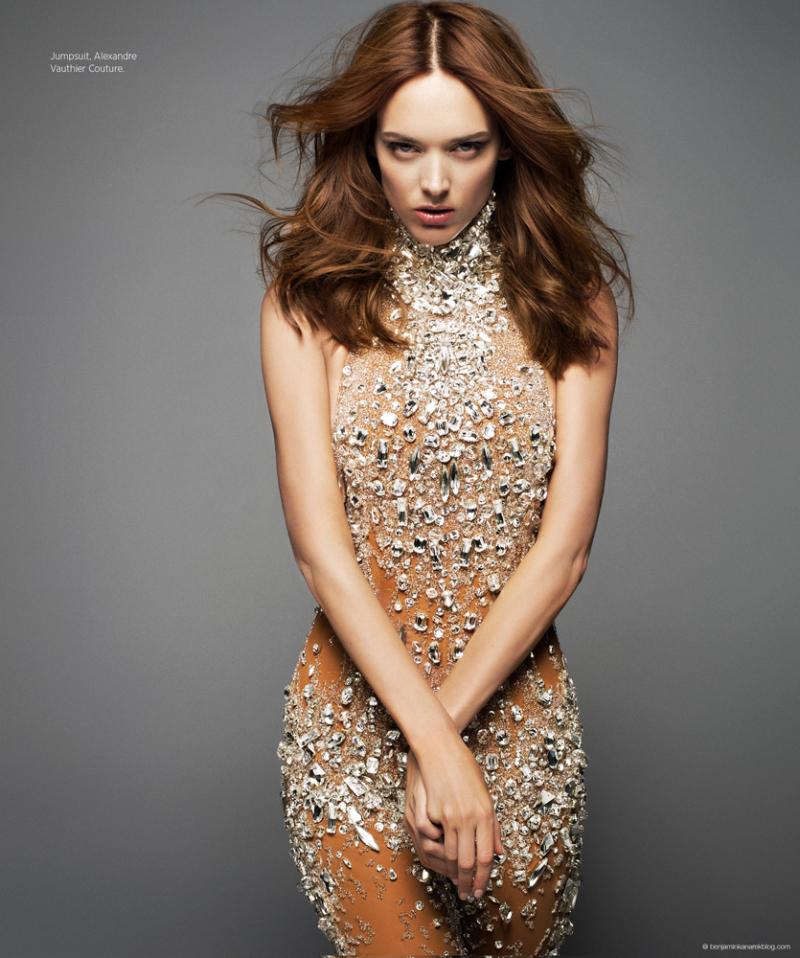 Dovile Virsilaite Haute Couture Infinite Creation Harper's Bazaar
