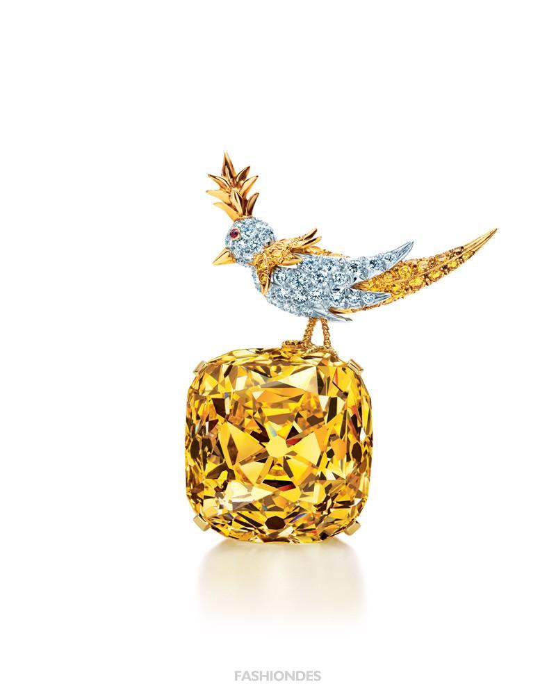 蒂芙尼传奇黄钻将于12月首度到访中国