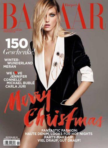 德国版《时尚芭莎》2017年封面大片欣赏