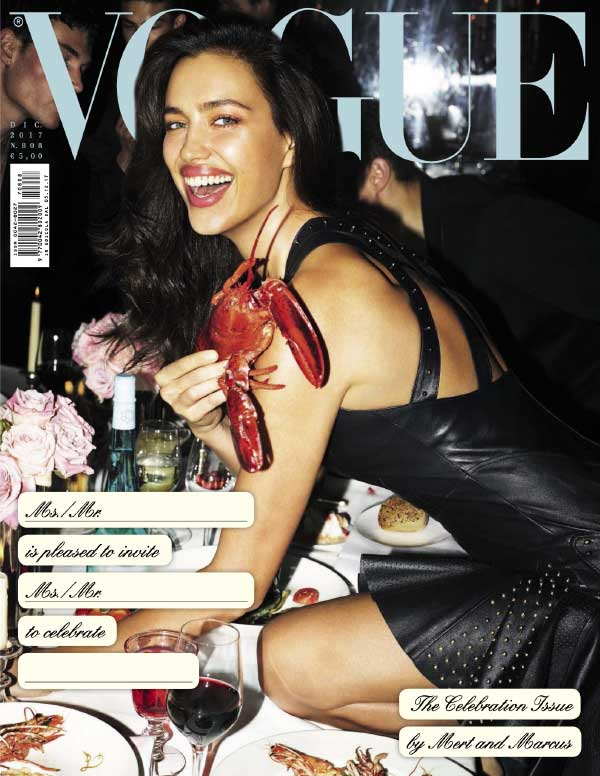 意大利版《Vogue》时尚杂志封面大片欣赏
