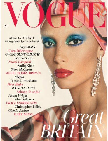 英国版《Vogue》时尚杂志2017年封面大片欣赏