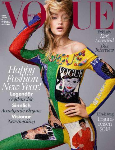 德国版《Vogue》2018年封面大片欣赏